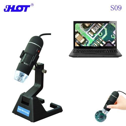 HOT S09 25-600 times HD 2MP digital microscope portable handheld optical microscope