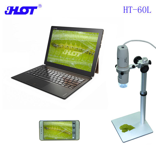 HOT HT-60L 5MP Afocal Digital Microscope Long Working Height 4-50CM